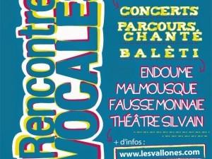 Rencontres Vocales Théatre sylvain Marseille 13007 13 et 14 juin 2014