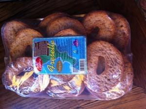 pain fresselle chez Zia Concetta