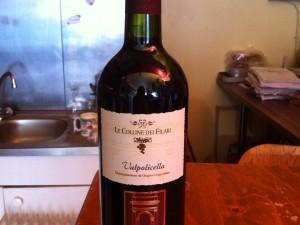 Vin Rouge Valpolicella de Venise