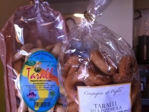 Taralli biscuits apéro salés