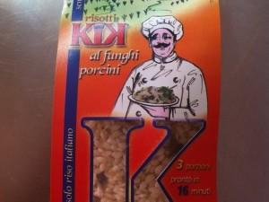 Risotti al funghi porcini ( risotto aux cèpes)