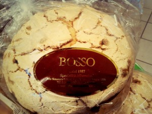 Panettone BOSSO artisanal avec glaçage