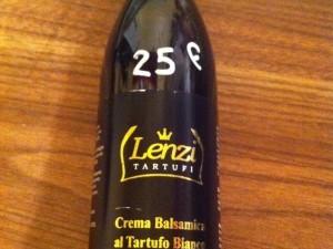 Crema Balsamica al tartufo bianco LENZI