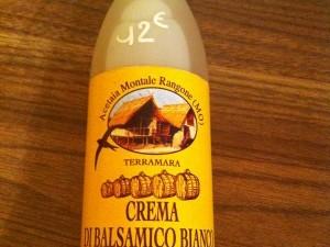 Crema di balsamico bianco