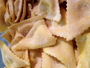 pâtes fraiches, triangoli au gorgonzola Zia Concetta 13007