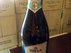 prosecco bolla vin blanc pétillant italien chez Zia Concetta