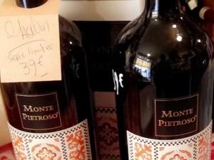 Magnum vin rouge Montepietroso Sicile