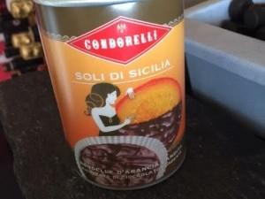 Soli di Sicilia, oranges confites au chocolat noir